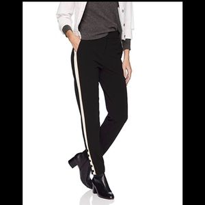 Calvin Klein Pants Contrast Stripe and buttons